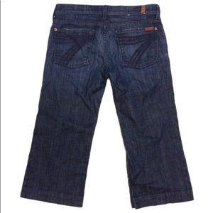 7 FAMK Dojo Wide Leg Trouser crops